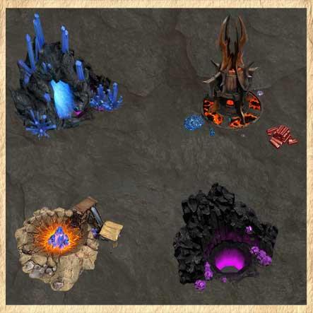 Редкие ресурсы в Heroes of Might and Magic VII